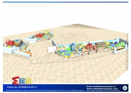 中国风主题淘气堡YT-20180604-K-001-2